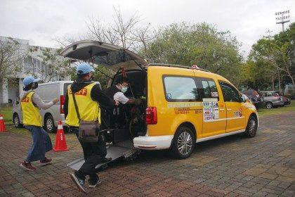 無障礙計程車免費接駁 全障運各縣市選手稱讚